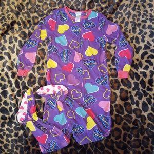 NWOT Girl's Onsie Footed Pajamas
